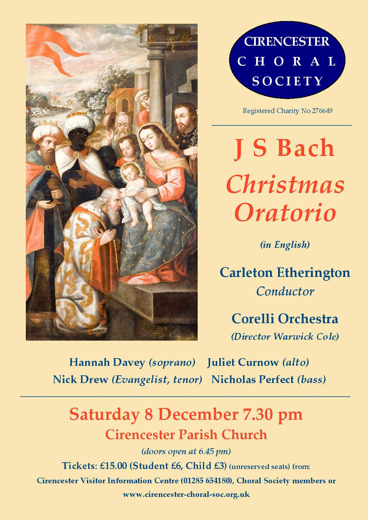 Cirencester Choral Society's Autumn Concert