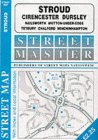 Stroud, Cirencester, Pursley, Tetbury, Nailsworth, Minchinhampton, Wotton-under-edge, Chalford (Streetmaster Street Maps)