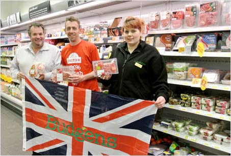 Budgens store in Chesterton Road celebrates move to 100% British fresh meat and poultry