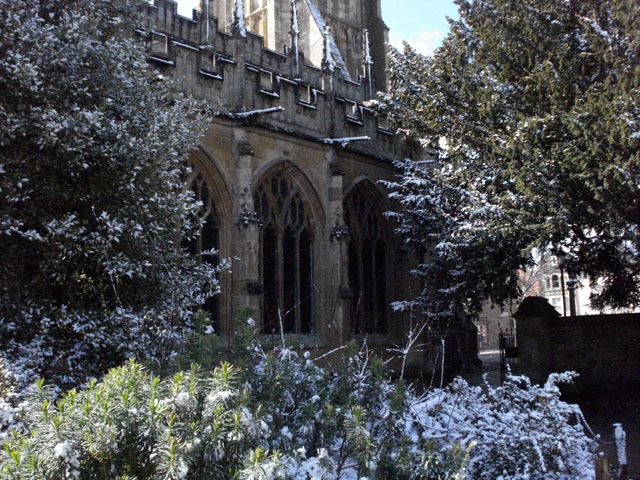 Cirencester in the snow, 2008