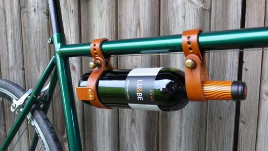 A wine carrier for your bike