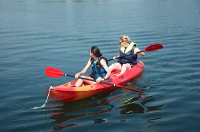 Watersports fun near Cirencester