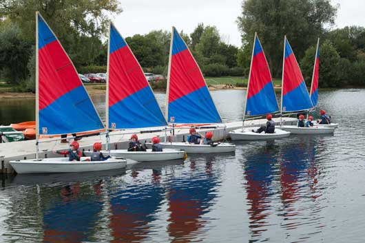 Sailing in the Cotswolds