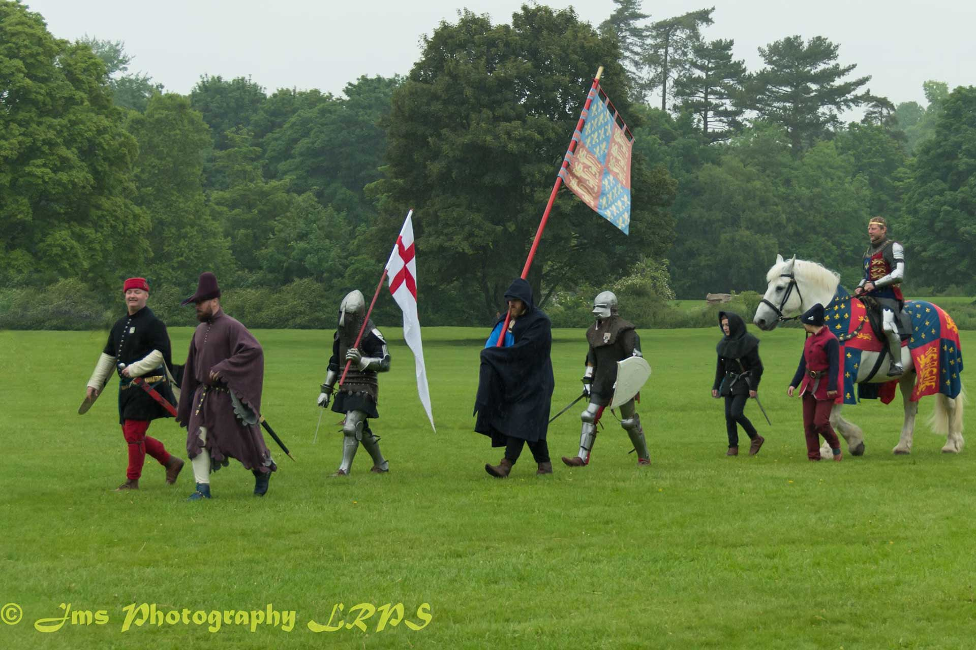 Plantagenet Medieval Society at the Plantagenet Re-enactment Weekend in Cirencester